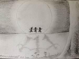 Full Moon Pencil Drawing | www.pixshark.com - Images ...