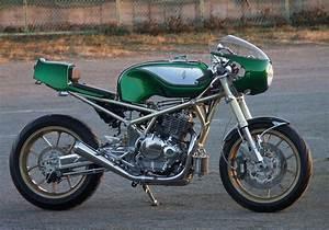 Racing Caf U00e8  Suzuki Goose 250 By Gull Craft