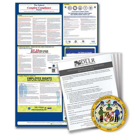 Discover more plans at the lowest available cost. 2020 Maryland Federal and State Labor Law Poster Kit   Resourceful Compliance