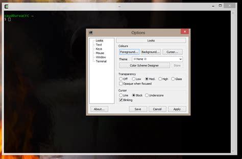 console terminal windows 7 quot ubuntu terminal quot like console for windows user
