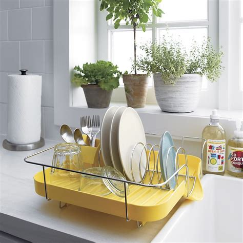 kitchen dish rack ideas foldable green and grey plastic dish rack designs with