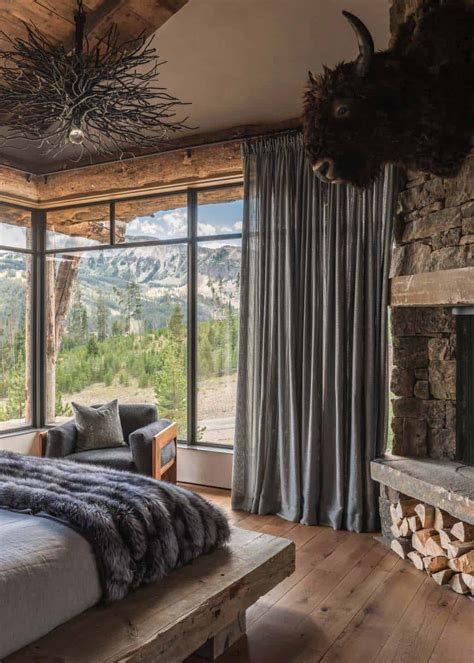 Rustic Chic Home Decor - rustic chic mountain home in the rocky mountain foothills
