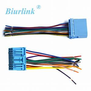 Car Radio Wire Harness Cable Adapter For Honda Fit Buick
