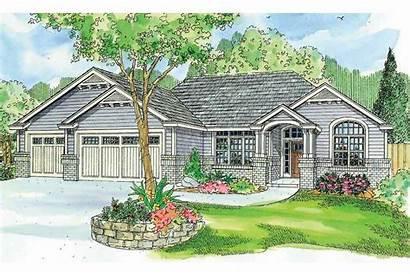 Ranch Plan Windsor Plans Designs Garage Exterior
