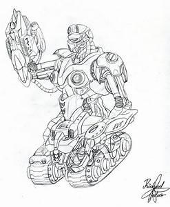 Robot War by rozhvector on DeviantArt