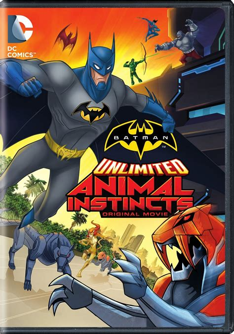 Batman Unlimited: Animal Instincts DVD Release Date May 12 ...