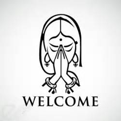 Namaste Symbol for Welcome