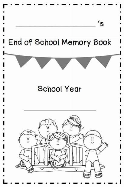 Memory End Kindergarten Grade Teacher Books 2nd