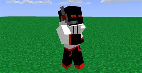 red enderman gamer minecraft skin