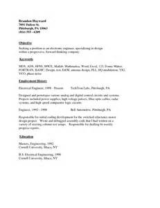 Simple Resume Example Good Simple Resumes Examples Alexa