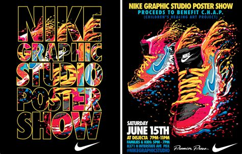 event nike graphic studio poster show sole collector