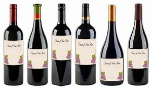 free printable wine labels lovetoknow With create wine labels online