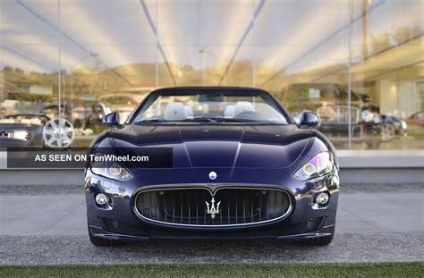 maserati 4 door 2012 maserati granturismo sport convertible 2 door 4 7l