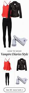U0026quot;Elena Gilbert outfit (vampire diaries)u0026quot; by adriannablest on Polyvore featuring Frame Denim ...