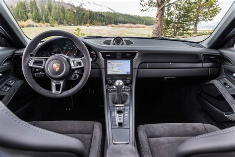 porsche carrera interior 2017 2018 porsche 911 gts review every street has a fast lane