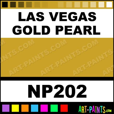 las vegas gold pearl pearlescent airbrush spray paints
