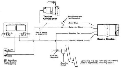 Gmc Brake Controller Wiring Diagram by Agility Brake Controller Wiring Diagram For 2007