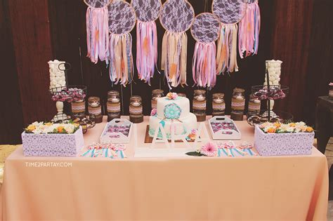 A Dream Catcher Themed Welcome Baby Party