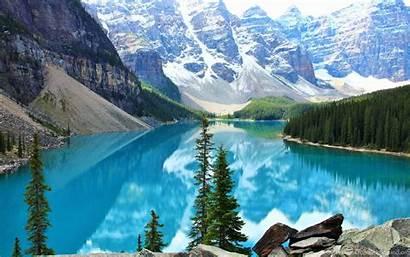 Lake Moraine Wallpapers Desktop Background Canada Banff
