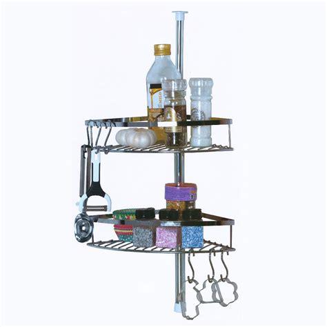 etagere en inox pour cuisine gallery of tagre de cuisine tlescopique inox paniers with