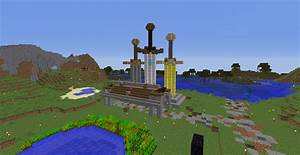 Death Games Sword Monument Minecraft