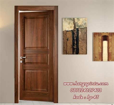 Desain Pintu Kamar Kayu Jati, Model Pintu Single Panel