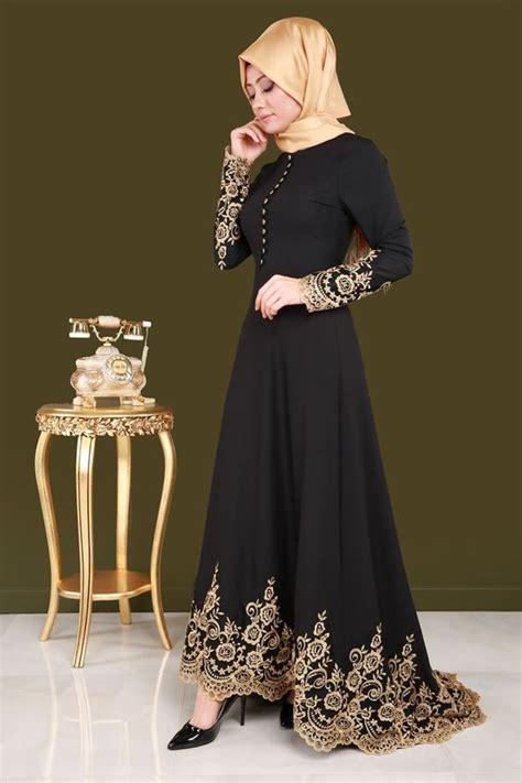 model gaun pesta modern muslim   populer