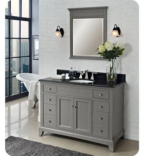 ideas  gray bathroom vanities  pinterest
