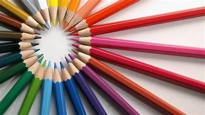 Desktop Wallpapers Colour Background Colored Colorfull Pencils