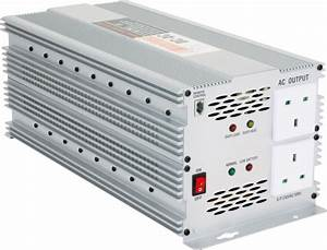 3000w Dc 12v To Ac 230v Car Power Inverter With Fuse