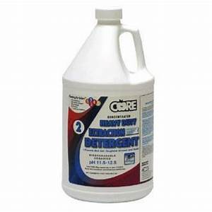 Core heavy duty extraction carpet cleaning detergent for Carpet cleaner detergent