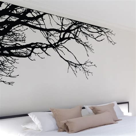stickers muraux chambre ado gar n shadowy tree branches wall decal so that 39 s cool