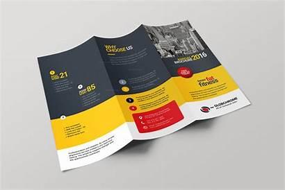Fold Brochure Tri Creative Lexington Corporate Brochures