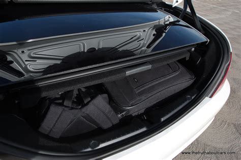 Trunk Space by 2012 Mercedes Slk350 Interior Trunk Space Picture
