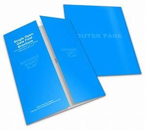11x17 Gate Fold Brochure Mockup