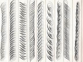 Practice Calligraphy Flourishes