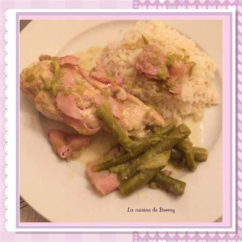 cuisine filet de poulet filet de poulet aux asperges et au bacon ww la cuisine