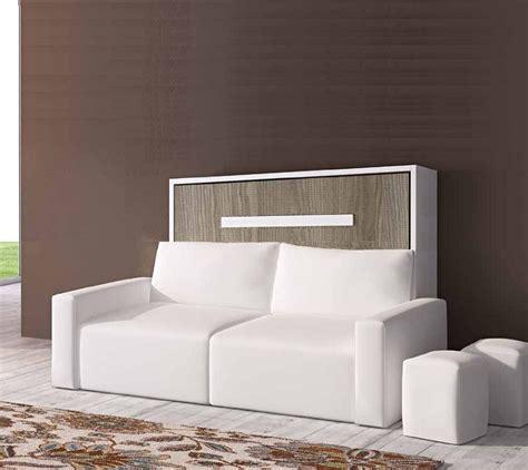 canapé lit escamotable lit armoire escamotable avec canape canapé idées de