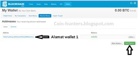 pemburu bitcoin cara mudah membuat banyak alamat wallet dalam satu akun