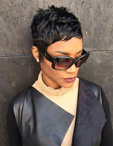 Pixie Cut Black Hairstyles by A Pixie Hairstyle From Atlants S Like The River Salon
