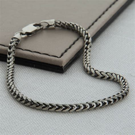 3rd wedding anniversary gifts sterling silver s snake chain bracelet hurleyburley