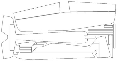 Electric Boat Vision Plan by Rc Plans Dxf