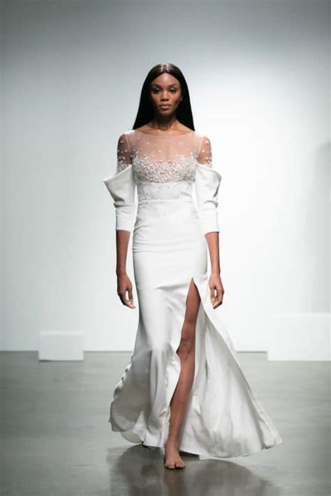 biggest fall  wedding dress trends  bride