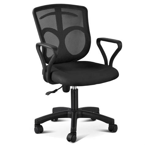 Desk Chair With Wheels by Black Ergonomic Mesh Back Office Computer Desk Chair