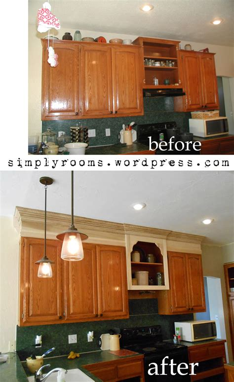 project making  upper wall cabinet taller kitchen
