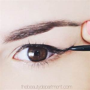 WINGED LINER FOR A DROOPY LID | Wings, Hooded eyes and ...