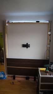 Wand Selber Bauen : mediawand selber bauen medien tv halterun selber bauen ~ Michelbontemps.com Haus und Dekorationen
