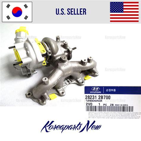 hyundai veloster turbo upgrade turbocharger original 282312b700 hyundai veloster turbo