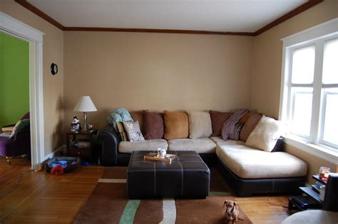 Natural Hessian Living Room A Living Room Plastered And