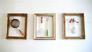 Picture of diy wall art vintage kitchen tools